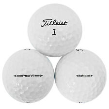 48 Titleist Pro V1 2016 Refinished Used Golf Balls *No Markings or Logos* SALE!