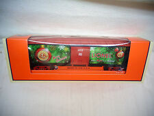 Scarse 2012 O Guage 6-29972 Lionel Employee Christmas Box Car MINT