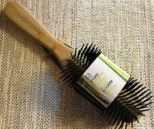 New body shop bamboo wooden styling hair brush