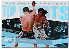 Diego Sanchez Clay Guida 2010 Topps UFC Main Event Top 10 Fights Of 2009 Card #1