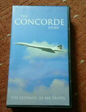 THE CONCORDE STORY-VHS TAPE