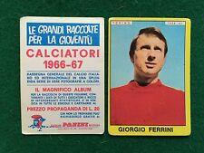 CALCIATORI 1966/67 66/1967 TORINO Giorgio FERRINI Figurina Sticker Panini (NEW)