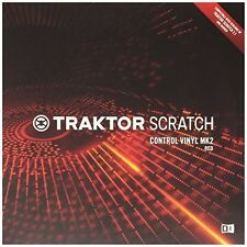 Red Traktor Scratch Control Vinyl Mk2 W/ Timecode Control for Scratch Perfection