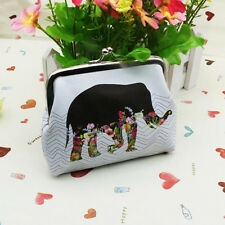 Fashion Women Elephant Wallet Card Holder Coin Purse Clutch Handbag Mini Wallet