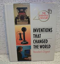 Inventions That Changed the World by Reader's Digest Editors Hardback Book