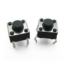50PCS 6*6*6mm 6x6x6 mm Micro Momentary Tactile Tact Touch Push Button Switch