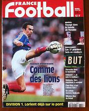 FRANCE FOOTBALL 23/06/1998; les 37 buts en couleurs/ Dans le monde de RONALDO