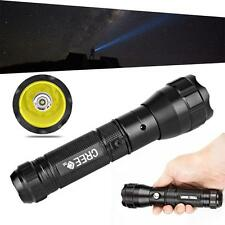 Rechargeable Portable Flashlight 300LM CREE Q5 LED Tactical Torch Lamp Light JU