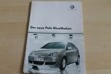 93329) VW Polo BlueMotion Prospekt 06/2006