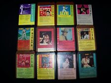 8-Track Cassette Elvis Presley 12 lot RCA tapes Flaming Star Separate Ways +