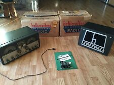 Hallicrafters SX-99 Shortwave Ham Radio Receiver + R-46B Speaker Both In Boxes