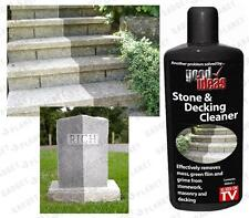2 Pack Stone Decking Patio Gravestone Drive Paving Step Garden Furniture Cleaner