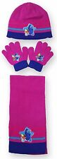 Girls Finding Dory Hat Gloves And Scarf 3PC Set One Size  2 to 8 Years 780516