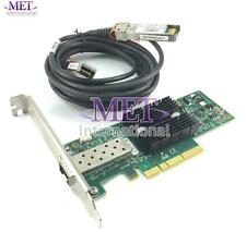 LOT OF 10 671798-001 HP 10GB CONNECTX2 PCI ETHERNET CARD HIGH PROFILE W/ CABLE