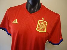 SPAIN ESPAñA OFFICIAL LICENSED 2016 HOME JERSEY BOYS LARGE NEW