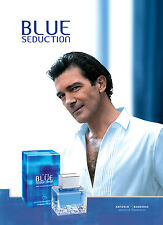 Blue Seduction Cologne By Antonio Banderas Men Perfume EDT Spray 3.4 oz 100 ml
