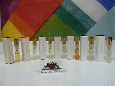 LOT OF 7 AMOUAGE LIBRARY COLLECTION SAMPLES 2ML OPUS IV, OPUS V, OPUS VI, ETC.