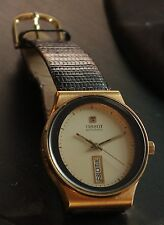 Tissot Automatic day-date dress watch with Lizard band