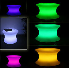 LED COFFEE TABLE 16 ADJUSTABLE COLORS RECHARGEABLE REMOTE CONTROL