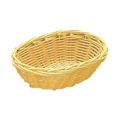 AZ boutique  Corbeille polypropylène   Corbeille à pain ovale 25cm x 16,6cm - po