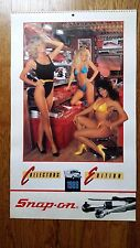 Vintage Snap-On Tools Pin-Up Girl Calendar 1989 Collectors Edition - NOS