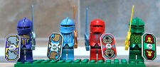 Lego Castle Kingdom II Lot of 4 Morcia Knights as pictured