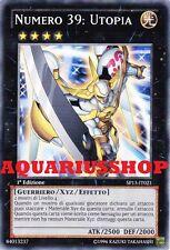 Yu-Gi-Oh! Numero 39 Utopia SP13-IT021 fortissima carta di yuma Zexal Nuovo    GX