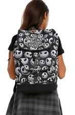 Disney The Nightmare Before Christmas Slouch Buckle Backpack Book Bag NWT!
