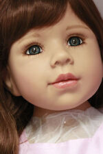 Masterpiece Dolls 2014 Amber, Brunette with Blue/Green Eyes by Monika Levenig