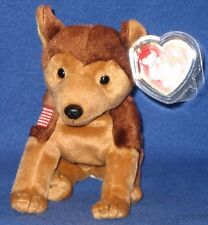 TY COURAGE the DOG BEANIE BABY - MINT with MINT TAGS