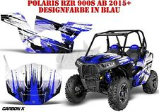 AMR Racing DECORO GRAPHIC KIT UTV POLARIS General/RZR 900s/1000xp CARBON-x B