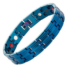 Beautiful Strong Blue Bio Energy 4in1 Magnetic Bracelet Arthritis Pain Relief