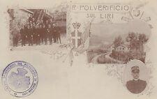 8828) FONTANA LIRI POLVERIFICIO IL COMANDANTE E 2 VEDUTINE.
