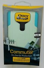 NEW OtterBox Commuter Case/Holster for LG G4 Cool Melon Sage Green / Teal