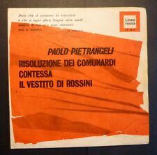 45 GIRI 7' - P. PIETRANGELI - CONTESSA - ONLY COVER - SOLO COPERTINA