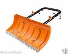 Aerocart Snow Plow For Wheeled Cart Snow Removal Sidewalk Driveway In Seconds