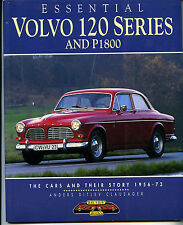 ESSENTIAL VOLVO 120 SERIES AND P1800 CLAUSAGER NEW CAR BOOK Reduced Price
