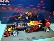 1/18 Red Bull Racing TAG Heuer RB12 #33 Verstappen Winner Spain'16 Spark 18S240