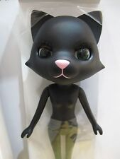 Petworks Odeco Nikki Cat Hadakanbou no Nude body #004PK Black Cat Pink nose SALE
