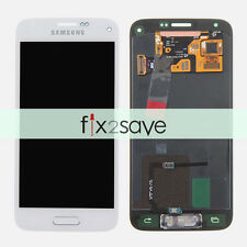 White LCD Display Touch Screen Digitizer Samsung Galaxy S5 Mini G800 G800A G800H