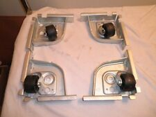 Set of 4 New Heavy Duty Server Equipment Rack Cabinet Enclosure CASTERS WHEELS