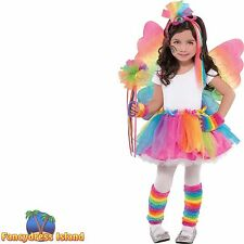 RAINBOW FAIRY PRINCESS TUTU MY LITTLE PONY-  girls kids fancy dress- tutu only -