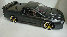 1:10 RC Nitro EXCRC Petrol Engine Grey Ford BA Ute FPV Pursuit On Road Car