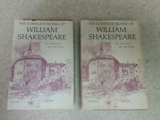 The Complete Works of William Shakespeare, 2 Volumes, Plays & Poems, Homeschool