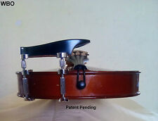 Violin Parts Height Adjustable Chinrest Teka Patent HiClamps.EXCLUSIVE WBO