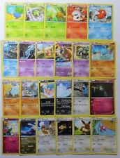 XY ANCIENT ORIGINS - Complete Common/Uncommon Pokemon Character Cards Set