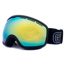 Grayne MTN Blackout Goggle w/Goldrush Anti-Fog Lens and Bonus Night Lens!