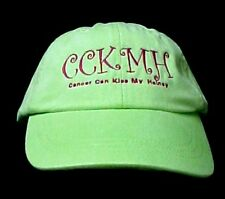 Cancer Awareness Hat Can Kiss My Heiney CCKMH Lime Adams Cool Crown Embroidered