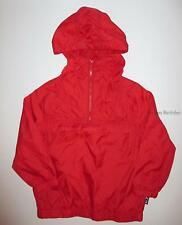 Gymboree Home Run Kid Baseball Red Half Zip Windbreaker Jacket Boys XS 4 NEW NWT