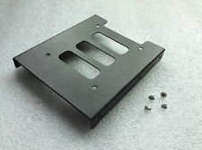 "Aluminium 2.5"" to 3.5"" Drive Bay SSD HDD Hard Drive Rack Mount Bracket & Screws"